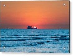 Sailing Across The Sun Acrylic Print