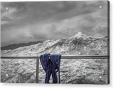 Acrylic Print featuring the photograph Sailing Around South West Cape Of Tasmania by Jola Martysz