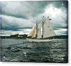 Sailing Away  Acrylic Print by Alana Ranney
