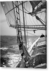Sailing Before The Wind Acrylic Print