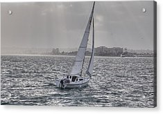 Sailing Bliss  Acrylic Print