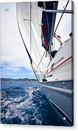Sailing Bvi Acrylic Print
