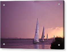 Sailing From The Sun Acrylic Print