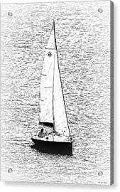 Sailing Home Acrylic Print by Bishopston Fine Art