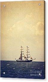 Sailing II Acrylic Print by Angela Doelling AD DESIGN Photo and PhotoArt