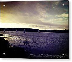 Sailing In Kinsale Acrylic Print by Maeve O Connell