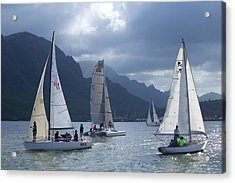 Sailing In The Light Acrylic Print