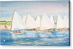 Sailing In The Summertime II Acrylic Print by Michelle Wiarda