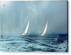 Sailing Into The Unknown Acrylic Print