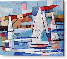 Sailing Joy Acrylic Print