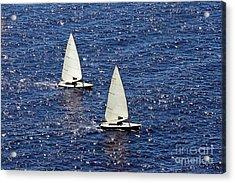 Sailing Acrylic Print by Lars Ruecker