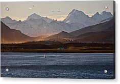 Sailing On The Beagle Channel Acrylic Print
