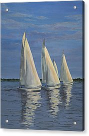 Sailing On The Chesapeake Acrylic Print