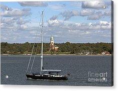 Sailing Past Netley Acrylic Print