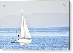 Sailing Peace Acrylic Print
