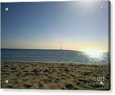 Acrylic Print featuring the photograph Sailing by Ramona Matei