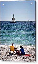 Sailing Sailing Acrylic Print