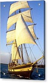 Sailing Ship Carribean Acrylic Print