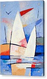 Sailing Signs Acrylic Print