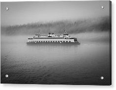Sailing Through The Fog Acrylic Print