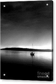 Sailing Through The Light Acrylic Print by Allyson Andrewz