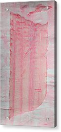 Sailing With Clouds In Pink Acrylic Print by Asha Carolyn Young