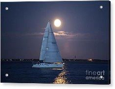 Sailing Yacht Tohidu Acrylic Print
