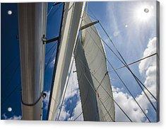 Sailing's Perfect Breeze  Acrylic Print