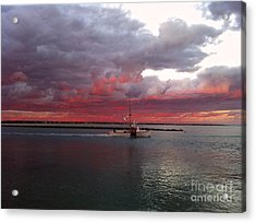 Sailors Delight 2 Acrylic Print by Amazing Jules