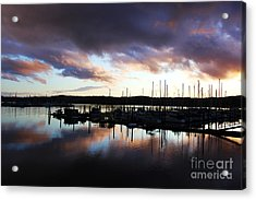 Sailors Delight Acrylic Print by Alison Tomich