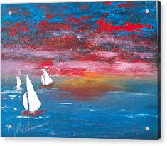 Sailor's Delight Acrylic Print by Margie Ridenour