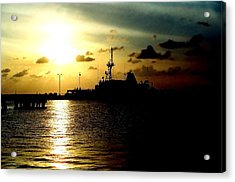 Acrylic Print featuring the photograph Sailors Morning by Amy Sorrell