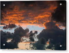 Acrylic Print featuring the photograph Sailors Take Warning by Allen Carroll