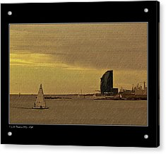 Acrylic Print featuring the photograph Sails by Pedro L Gili