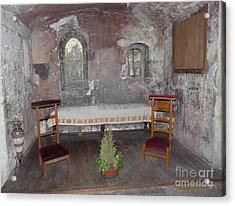 Acrylic Print featuring the photograph Saint Aignan Chapel by Deborah Smolinske