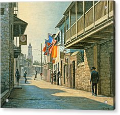 Saint Augustine Street   Acrylic Print