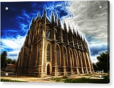 Saint Barbara Church Kutna Hora Acrylic Print