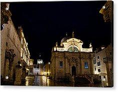Saint Blaise Church - Dubrovnik Acrylic Print