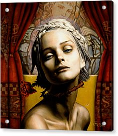 Saint Cecilia Acrylic Print
