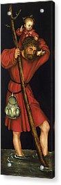 Saint Christopher Acrylic Print