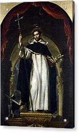 Saint Dominic De Guzman Acrylic Print