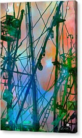 Saint Elmo's Fire Acrylic Print