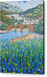 Saint Emilie South Of France Acrylic Print