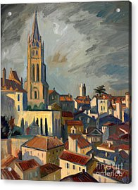 Saint Emilion Acrylic Print