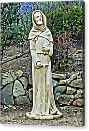 Saint Fiacre Acrylic Print