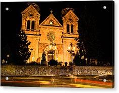 Saint Francis Cathedral Acrylic Print