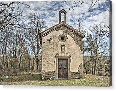Saint Gaieta Chapel Catalonia Acrylic Print by Marc Garrido