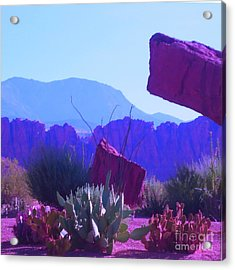 Acrylic Print featuring the photograph Saint George Rocks by Ann Johndro-Collins