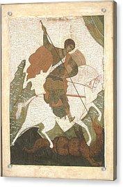 Saint George Acrylic Print