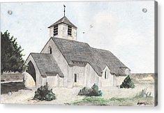 Saint-jean-baptiste A Chassignelles Acrylic Print